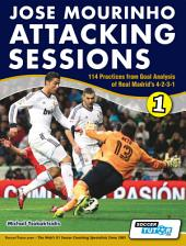 Jose Mourinho Attacking Sessions - 114 Practices: from Goal Analysis of Real Madrid's 4-2-3-1