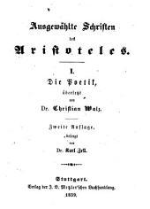Ausgewählte Schriften des Aristoteles
