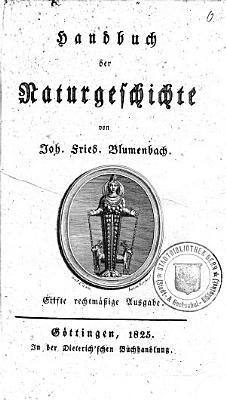 Handbuch der Naturgeschichte PDF