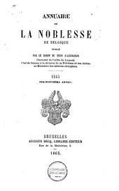 Annuaire de la noblesse de Belgique: Volume19
