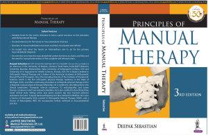 Principles of Manual Therapy PDF