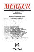 MERKUR Deutsche Zeitschrift f  r europ  isches Denken  Macht und Ohnmacht der Experten PDF