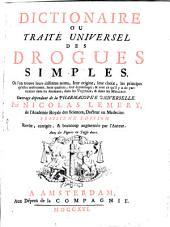 Dictionnaire ou traité universel des drogues simples