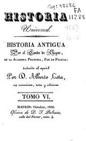 Historia antigua: Volumen 6
