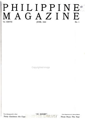 Philippine Magazine PDF