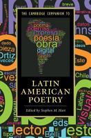 The Cambridge Companion to Latin American Poetry PDF