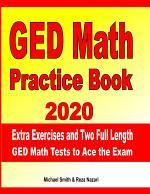 GED Math Practice Book 2020
