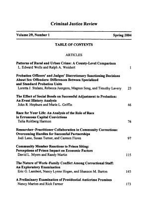 Criminal justice review PDF