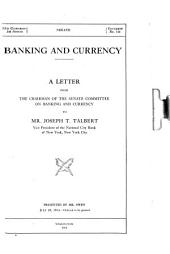 Banking and Currency: Volume 1