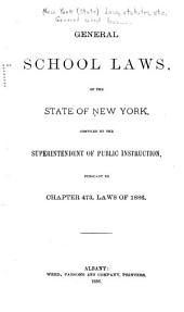 General School Laws of the State of New York