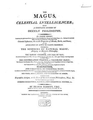 The magus  or Celestial intelligencer