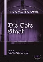 Die Tote Stadt Vocal Score PDF