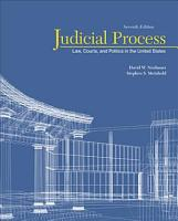 Judicial Process  Law  Courts  and Politics in the United States PDF
