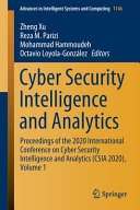 Cyber Security Intelligence and Analytics PDF