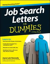 Job Search Letters For Dummies: Edition 4