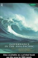 Governance in the Asia Pacific PDF