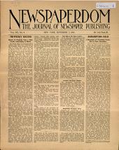 Newspaperdom: Volume 8, Issue 4