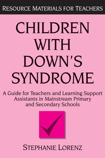 Children with Down s Syndrome PDF