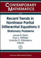 Recent Trends in Nonlinear Partial Differential Equations PDF