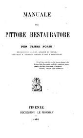 Manuale del pittore restauratore