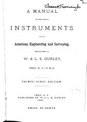 Gurley Manual of Surveying Instruments ...