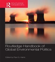 Routledge Handbook of Global Environmental Politics PDF