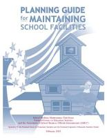 Planning guide for maintaining school facilities PDF