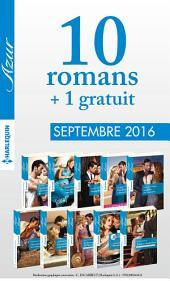 10 romans Azur + 1 gratuit (no3745 à 3754 - Septembre 2016)