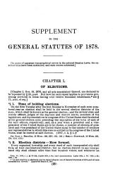 Supplement, 1879-1888 with annotations and general index to both volumes