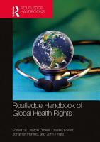 Routledge Handbook of Global Health Rights PDF