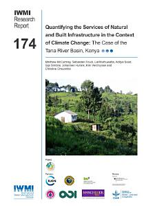 Quantifying the services of natural and built infrastructure in the context of climate change