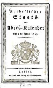 Kur-Hessischer Staats- und Adress-Kalender