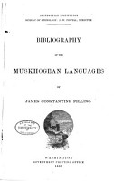 Bibliography of the Muskhogean Languages PDF