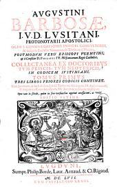 Dn. Petri Barbosae... De matrimonio, et pluribus aliis materiebus... tomus primus...
