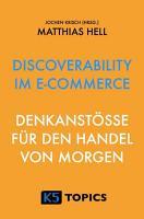 Discoverability im E Commerce PDF