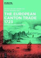 The European Canton Trade 1723 PDF