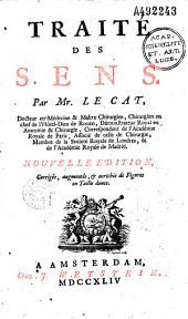 Traité des sens par Mr. Le Cat...