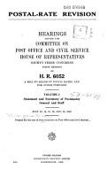 Postal rate Revision PDF