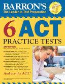 Barron s 6 ACT Practice Tests PDF