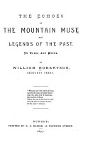 The Echoes of the Mountain Muse and Legends of the Past PDF