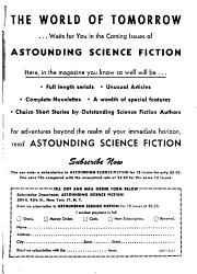 Astounding Science Fiction Book PDF