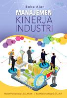 Buku Ajar Manajemen Kinerja Industri PDF