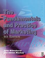 Fundamentals and Practice of Marketing PDF
