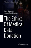 The Ethics Of Medical Data Donation PDF