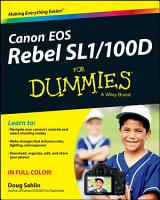 Canon EOS Rebel SL1 100D For Dummies PDF