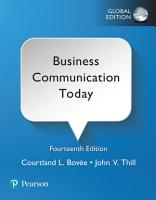 Business Communication Today  eBook  Global Edition PDF