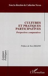 Cultures et pratiques participatives: Perspectives comparatives
