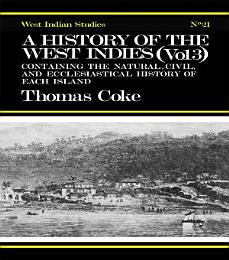 A History of the West Indies