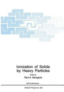Ionization of Solids by Heavy Particles