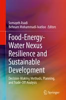 Food Energy Water Nexus Resilience and Sustainable Development PDF